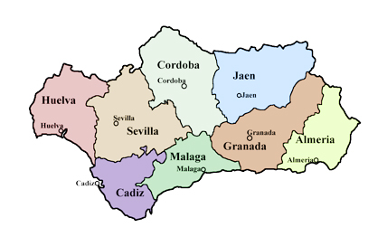 Karte Andalusien Cadiz.Fakten Zu Andalusien Rundreise Andalusien